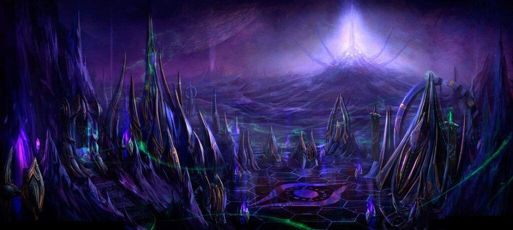 lorekeeper starcraft aeon of strife ihtilaf çağı protoss shakuras