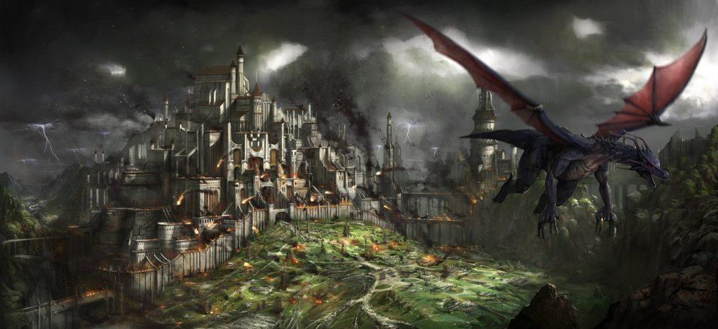 Denerim Savaşı'nda şehri yakıp yıkan başiblis Urthemiel