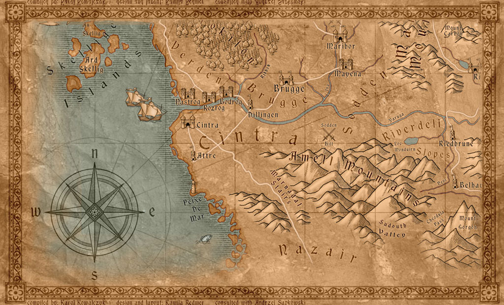witches map cintra