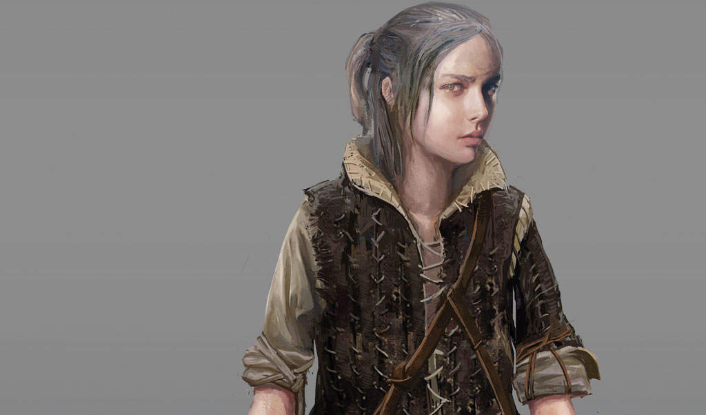 witcher young Ciri