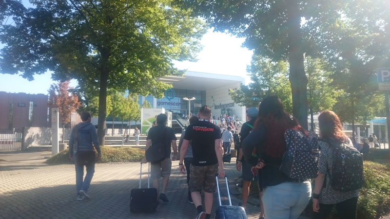 gamescom2015 enterance