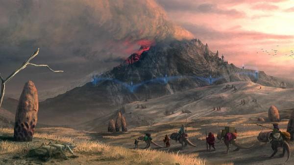 Lorkhan'ın Kalbi'nin bulunduğu Red Mountain