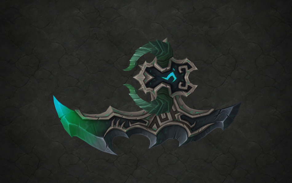 Lorekeeper-Artifacts-Demon Hunter-Aldrachi Warblades
