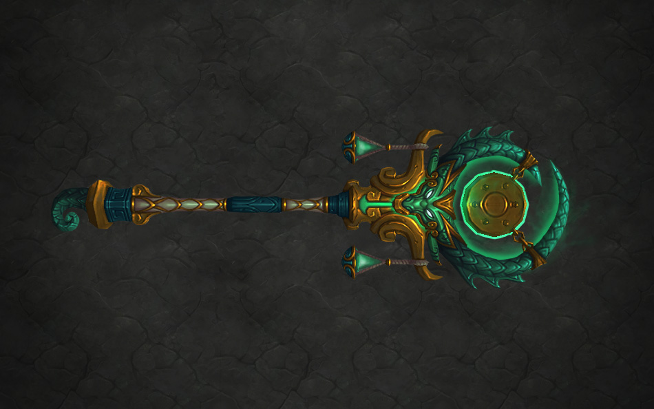 Lorekeeper-Artifacts-Monk-Sheilun Staff of the Mists