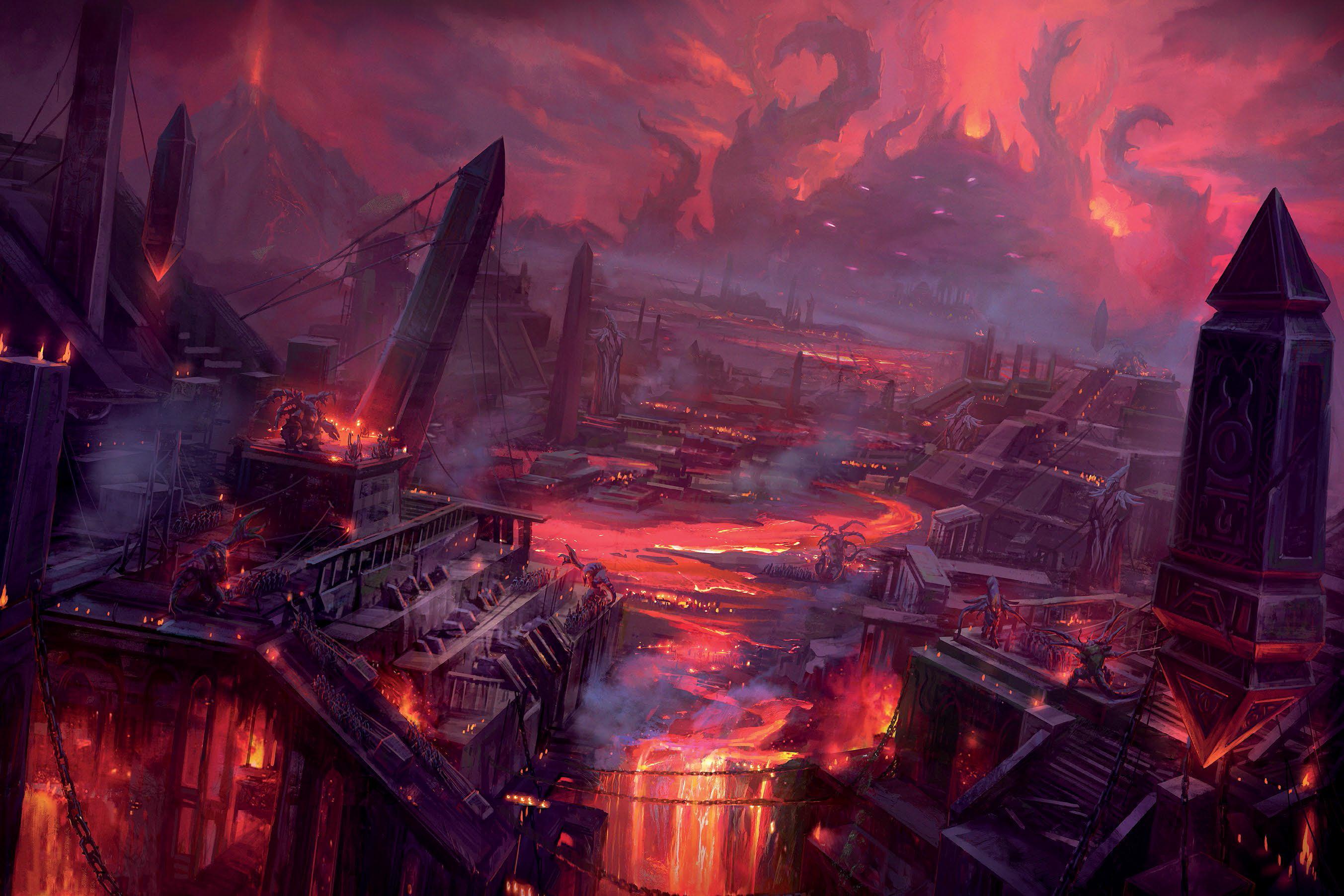 Titanlar tarafından hakimiyeti sona erdirilmeden önceki haliyle Kara İmparatorluk