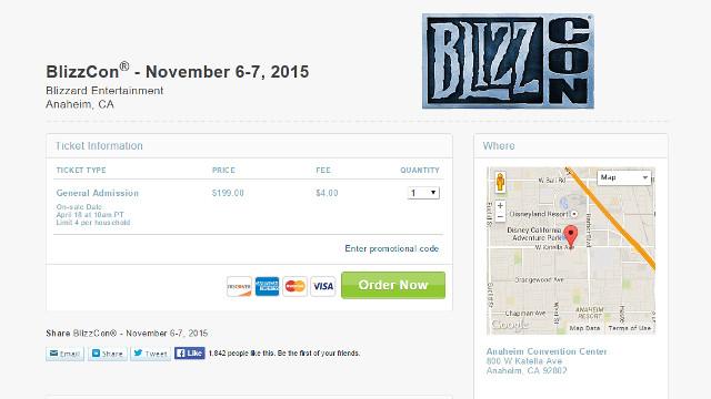 Lorekeeper-BlizzCon Gezi Yazısı-Bilet Alım