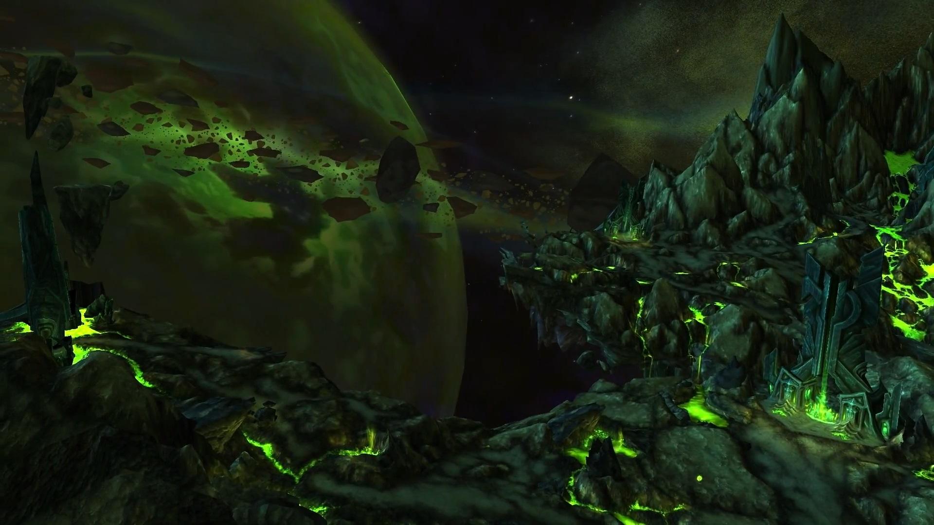 Parçalanmış olan Mardum gezegeni