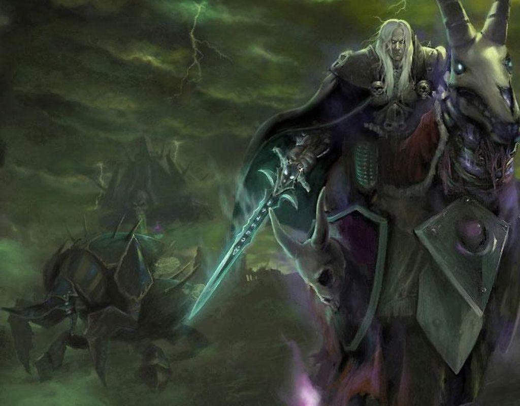 Kabir Lordu Anub'arak ve Ölüm Şövalyesi Arthas