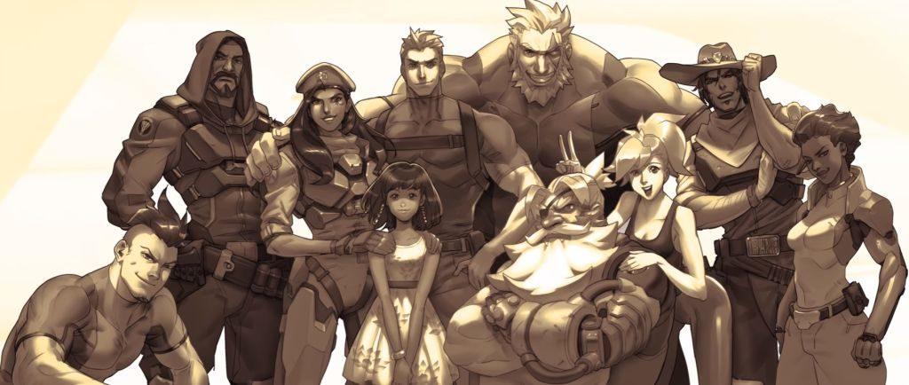 Ana ve Fareeha, Overwatch'un efsane ekibiyle birlikte...