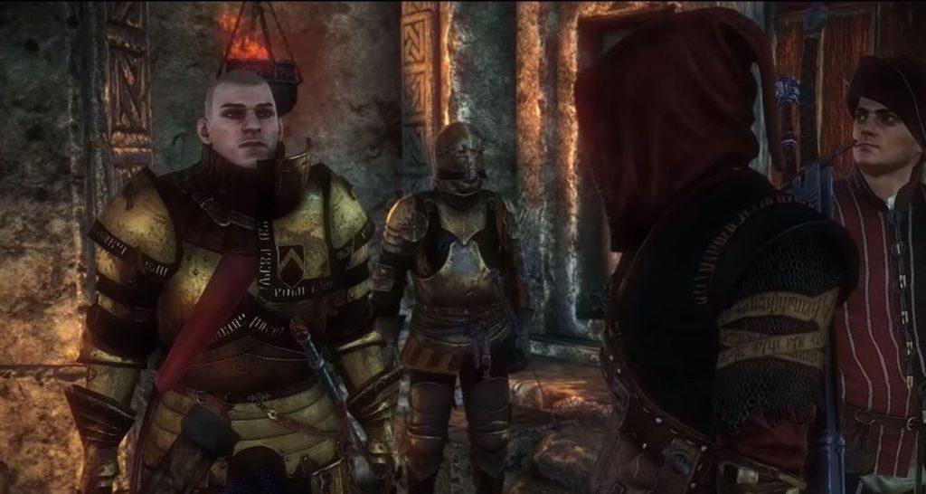 Saskia'yı zehirlemekle suçlanan Stennis'in kaderi Geralt'ın ellerindedir...