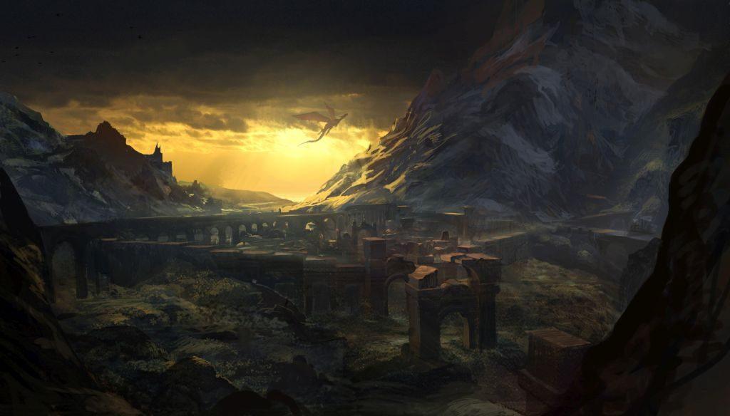 Kuzey Krallıklarının kaderini belirleyecek oturumun yapılacağı kadim elf şehri Loc Muinne...