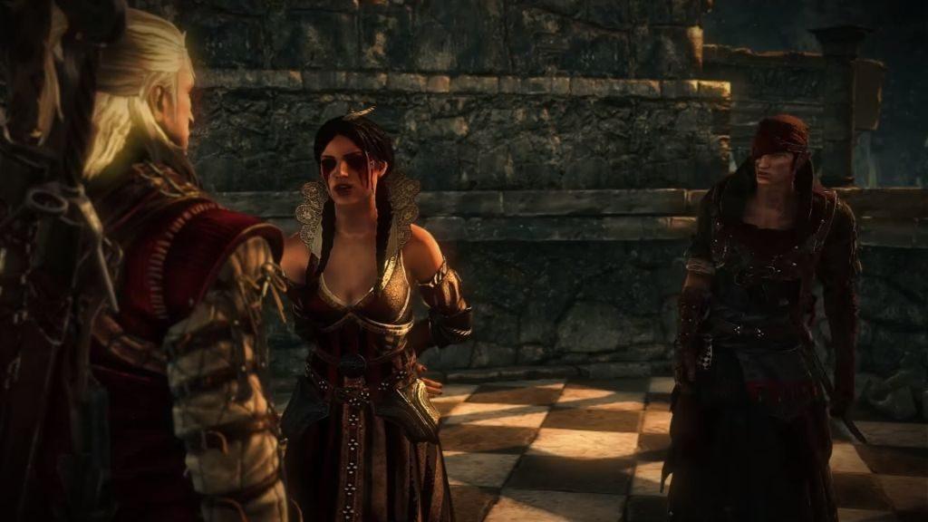 Philippa, Saskia'nın kurtuluşunu müjdeleyen hançere nasıl ulaşacaklarını anlatırken...