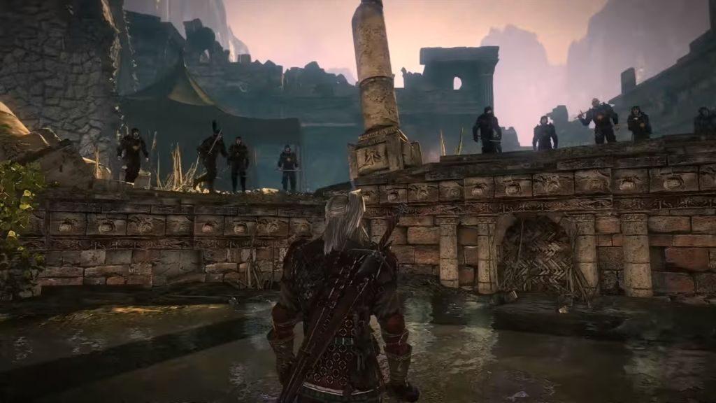 Geralt, Triss'i kurtarabilmek için Nilfgaard kampında koca bir taburla dövüşmek zorunda kalır...