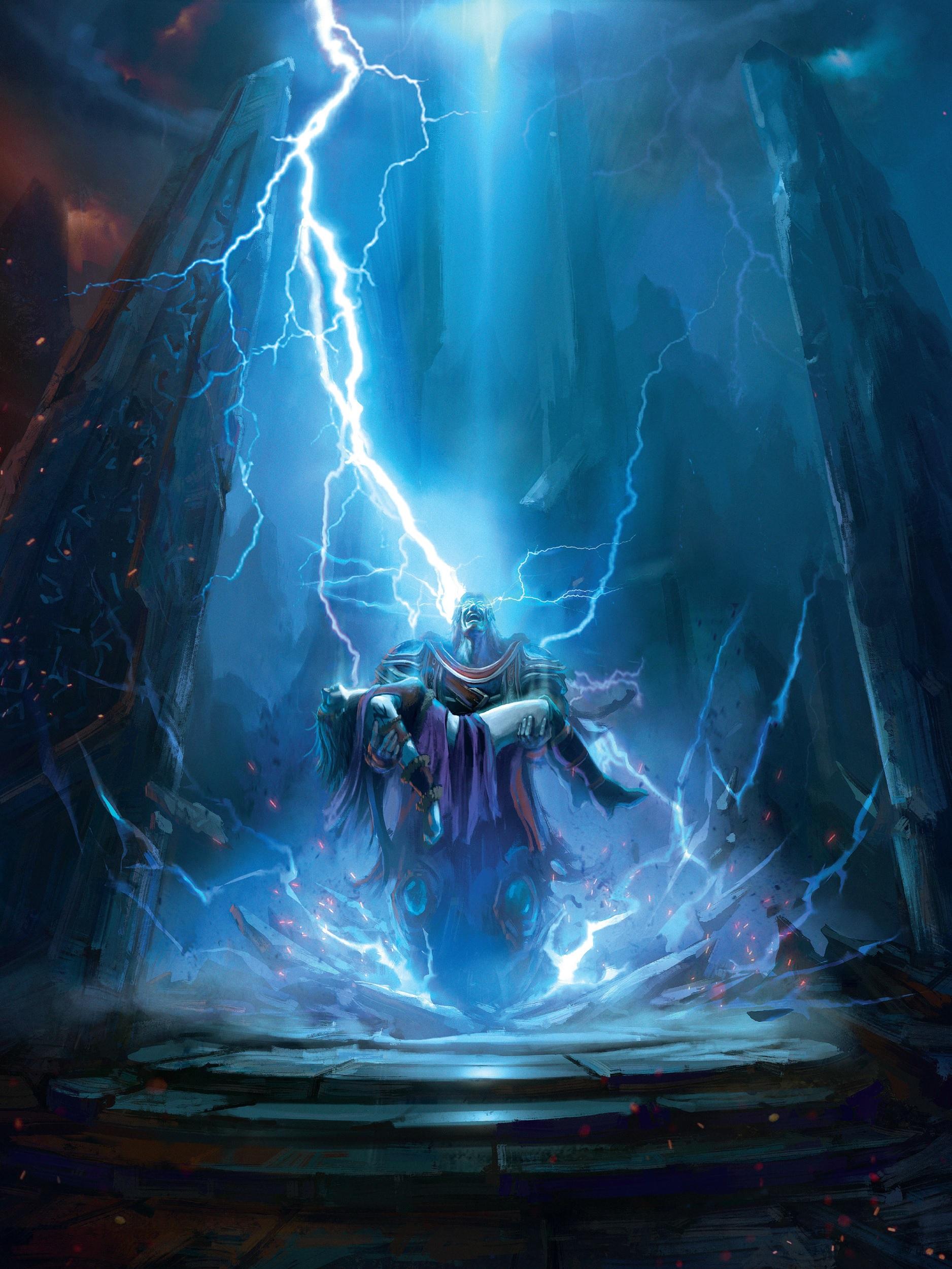 Sif'in cansız bedenini bulan eşi Bekçi Thorim