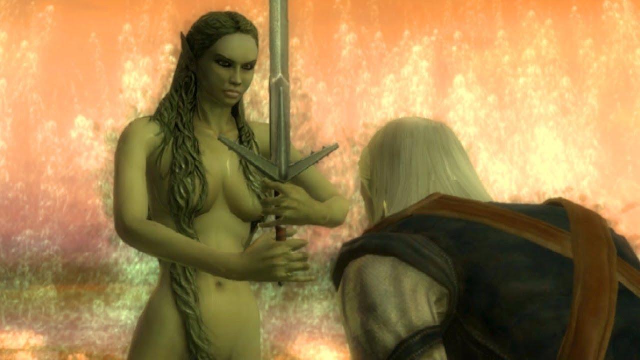 Ne yani, şimdi siz Geralt'ın Gölün Hanımı tarafından şövalye ilan edilişini daha kaliteli izlemek istemiyor musunuz?