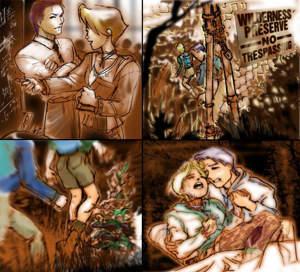 Konoko'nun annesi ve babasının trajik hikayesi
