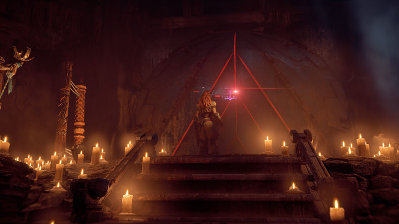horizon zero dawn aloy at mothers womb door