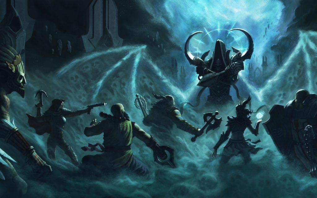 Malthael, Diablo'yu da durdurmuş olan nephalemlere karşı...