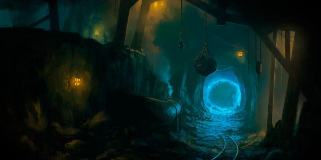 Madenlerin girişi...