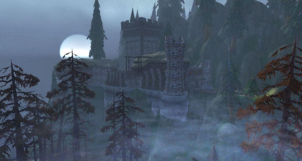 Gümüşçam Ormanı'nın derinliklerinde yer alan Shadowfang Kalesi