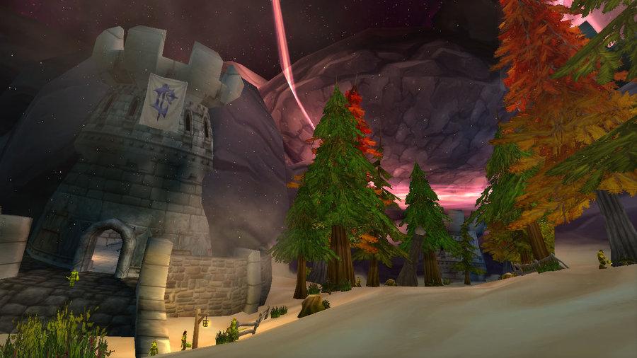Zaman Mağaraları'nda Durnholde Kalesi'ne giden yol