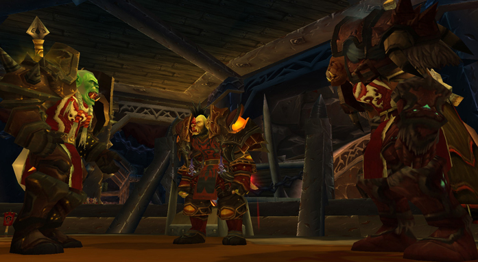 Varok Saurfang ve Garrosh Hellscream