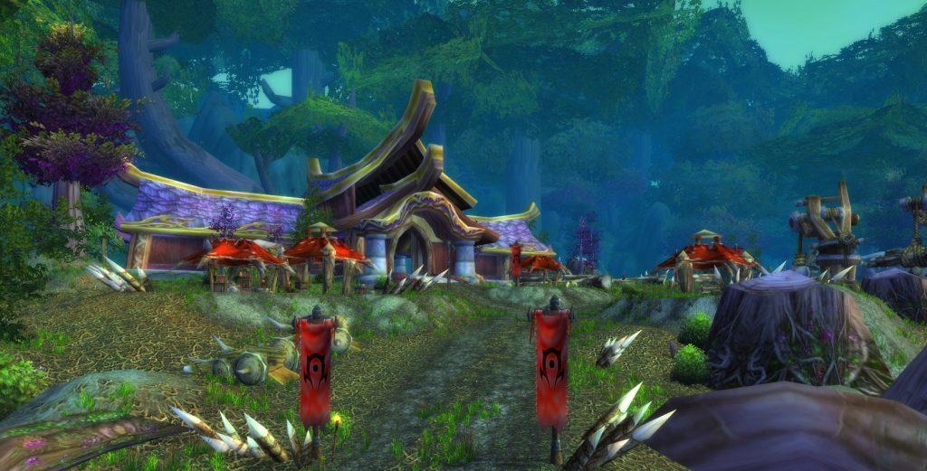 Külvadi'de Güruh tarafından ele geçirilmiş gece elfi yerleşimi