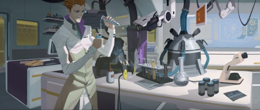 """Deneylerinin henüz daha """"masum"""" olduğu zamanlarda Moira..."""