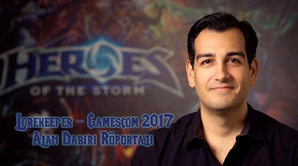 GAMESCOM 2017: ALAN DABIRI RÖPORTAJI