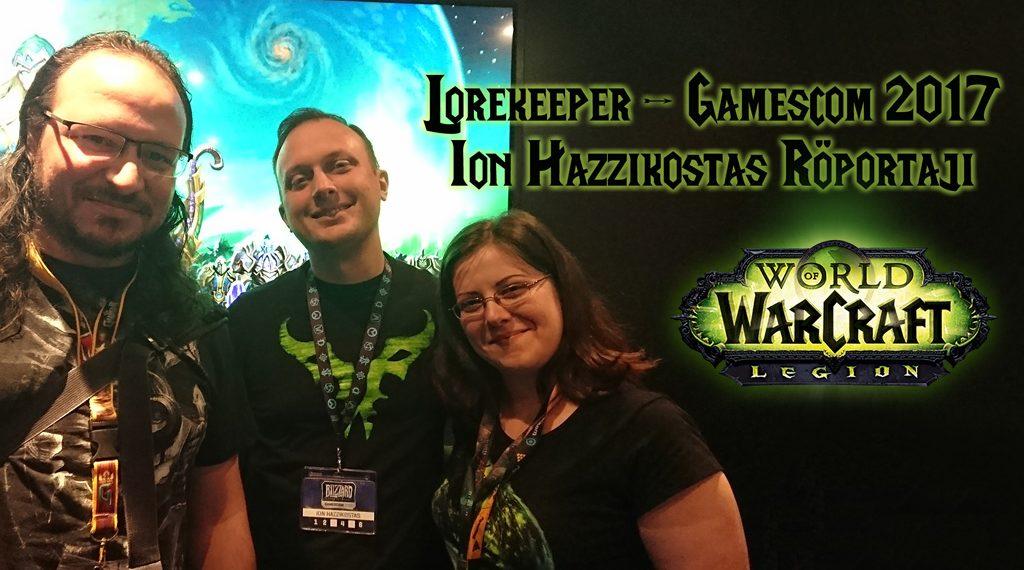 GAMESCOM 2017: ION HAZZIKOSTAS RÖPORTAJI