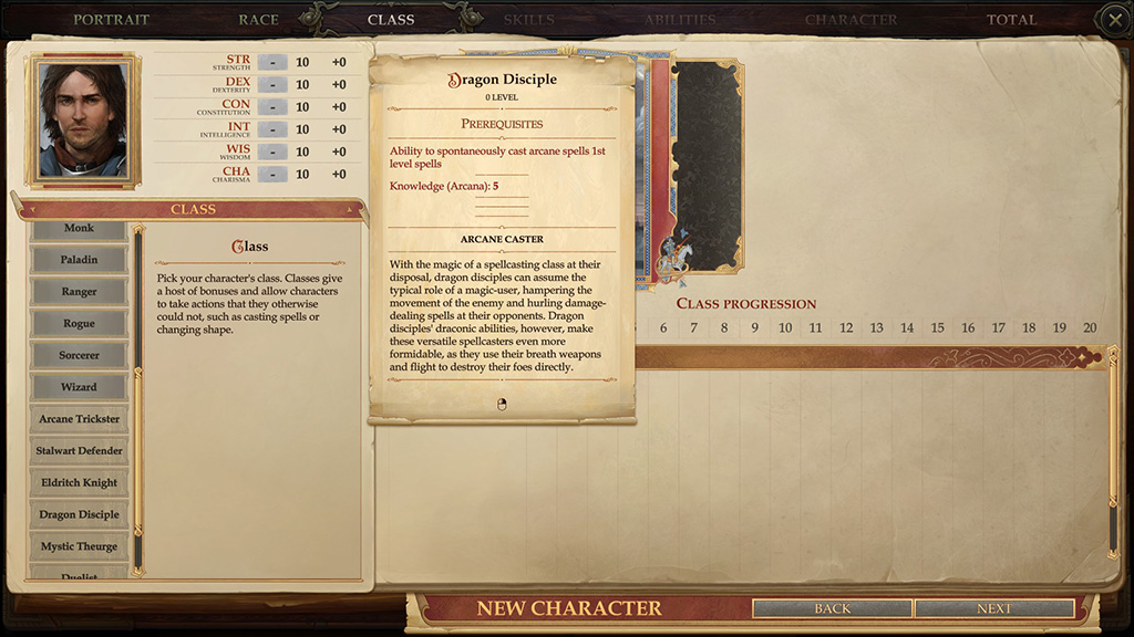 pathfinder dragon disciple requirements