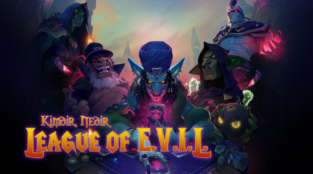 KİMDİR, NEDİR: LEAGUE OF E.V.I.L.